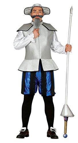 Chinesischer Ritter Kostüm für Herren Mandarin Chinese Karneval Fasching Party China Gr. M/L , Größe:L (Chinese Mandarin Kostüm)