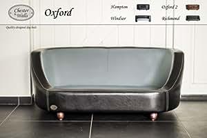 Canapé pour chien Oxford de coleur noir medium taille