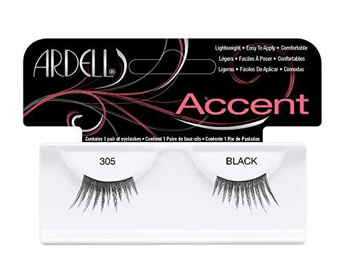 Ardell Lash Accents 305, das Original, black, 1er Pack (1 x 1 Paar) -