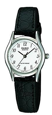 Casio LTP-1154PE-7BEF - Reloj de pulsera mujer, piel, color negro