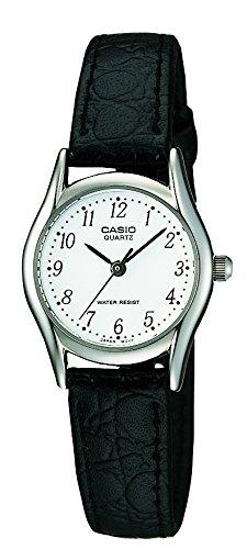 Casio LTP-1154PE-7BEF – Reloj de pulsera mujer, piel, color negro