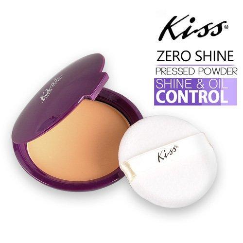 Kiss Zero Shine #01 Invisible Matte Pressed Powder by Kiss