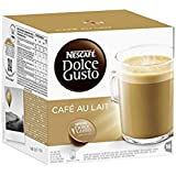 Dolce Gusto Café au lait (lot de 64 capsules)