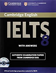 Cambridge IELTS 8 Self-study Pack (Students Book with Answers and Audio CDs (2)): Official Examination Papers from University of Cambridge ESOL Examinations (IELTS Practice Tests)