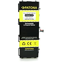 PATONA Batería SP3676B1A para Samsung Galaxy Note 10.1 GT-N8000 | Galaxy Tab 10.1 GT-P7100 |Galaxy Tab 2 10.1 P5100 [ Li-Polymer, 7000mAh, 3.7 V ]