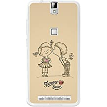 BeCool - Funda Gel Flexible Elephone P8000 Forever and Ever Carcasa Case Silicona TPU Suave