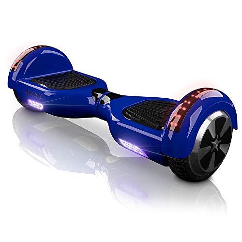 "ACBK Hoverboard 6.5\"" Self Balancing Elektro Scooter E-Balance Bluetooth, Tragetasche Fernbedienung (Blau)"