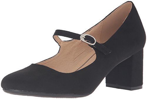 CL by Chinese Laundry Damen Annalise, Black Super Suede, 36.5 EU -