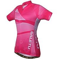 WY1688 Maillot De Ciclismo De Verano para Mujeres De Manga Corta Top De Secado Rápido Y Transpirable Comfort Leisure Sports MTB,S