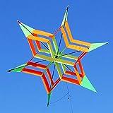 KINGDUO 3D Fleur Colorée Cerf-Volant Simple Ligne Sports De Plein Air Jouet Léger Vent Volant Enfants
