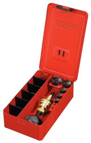 Preisvergleich Produktbild KS Tools 136.1100  Wasserhahn-Fräsapparat-Satz 3/8 Zoll-1 Zoll, 5-teilig