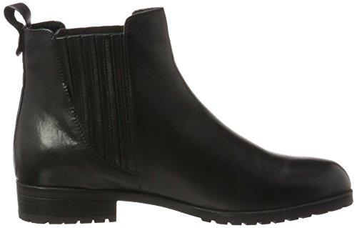 Caprice Damen 25352 Chelsea Boots Schwarz (Black Nappa)