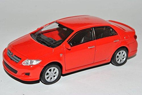 toyota-corolla-limousine-rot-ab-2006-1-43-welly-modell-auto-mit-individiuellem-wunschkennzeichen