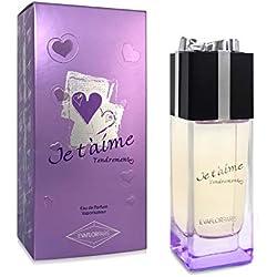 JE T'AIME Tendrement • Eau de Parfum 100 ml • Vaporisateur • Parfum Femme • EVAFLORPARIS