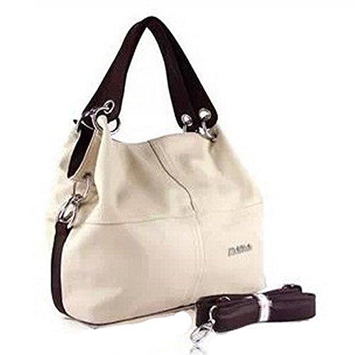 Eysee , Damen Tote-Tasche braun grün 33cm*32cm*11cm beige