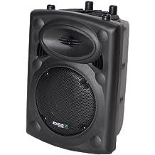 Ibiza SLK10A-USB - Altavoz de suelo de 400 W, negro