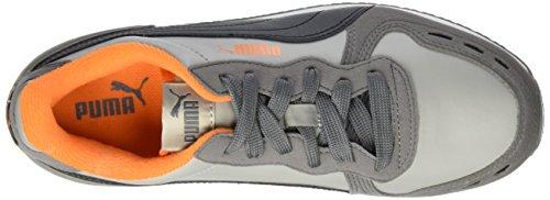Puma - Cabana Racer Sl, Scarpe da ginnastica Unisex – Bambini Grigio (Grau (Limestone-puma Black 44))