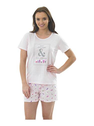 Indigo Sky - Ensemble de pyjama - Femme Multicolore pink icecream Multicolore - Mehrfarbig - pink icecream