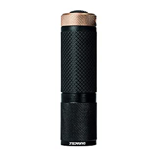 Duracell Flashlight, Tough COMPACT Series Torch, Bright 65 Lumen LED Light, Black Aluminium Finish, Duracell Batteries Included (Pack of 1) (CMP-11) (B00SWXZ6JW) | Amazon price tracker / tracking, Amazon price history charts, Amazon price watches, Amazon price drop alerts