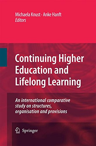 Continuing Higher Education and Lifelong Learning: An international comparative study on structures, organisation and provisions
