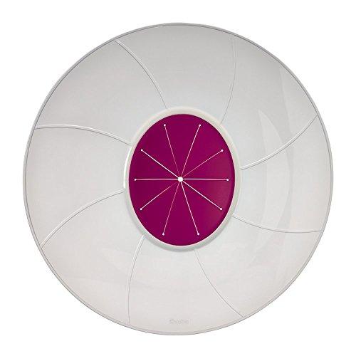 Metaltex, coperchio di protezione antischizzi, bianco/rosa, 32cm