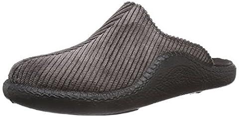 Romika Mokasso 220 Herren Pantoffeln, Braun (schwarz 100), 42