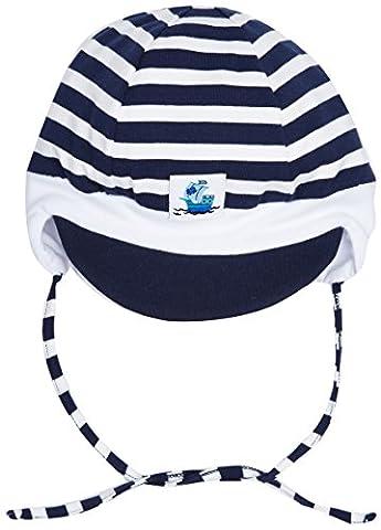Sterntaler Baby-Jungen Mütze Schirmmütze, Blau (Marine 300),
