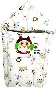 Mee Mee Baby Cozy Carry Nest Bag (Blue Giraffe)