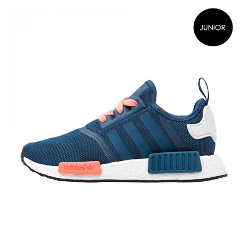 Adidas NMD Runner J S75339 Blue White Peach Boost