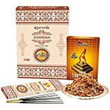 SLM HAVAN Set With Havan Samagri 200gm And SLM Ayurveda Chandan Masala Incense Sticks Set Of 12 Pcs