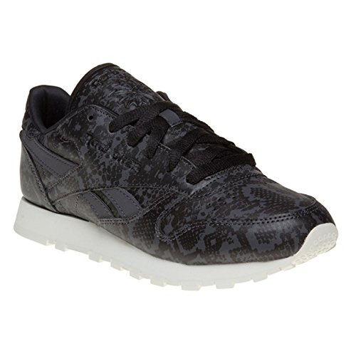 Reebok Classic Leather Snake Donna Sneaker Nero