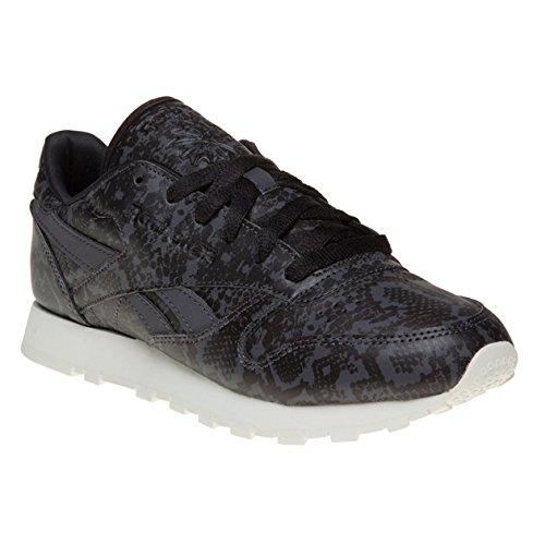 Reebok Classic Leather Snake Donna Sneaker Nero