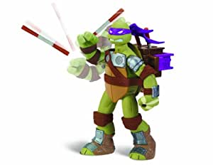 Tortues Ninja - 5536 - Figurine - Animation - Blister - Lance-projectile - Donnie - 14 Cm