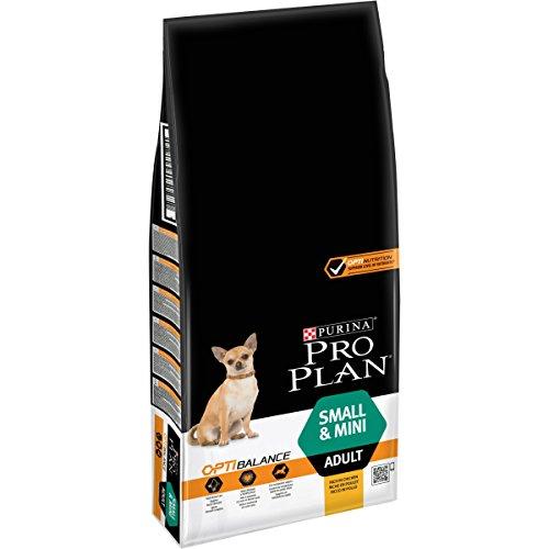 PRO PLAN Small & Mini Adult avec OPTIBALANCE Riche en Poulet - 14 KG - Croquettes pour petits chiens adultes