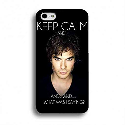 Fan Art Vampire Diaries H¨¹lle/Schutzh¨¹lle,Vampire Diaries H¨¹lle/Schutzh¨¹lle Black Hard Plastic Case Cover For Iphone 6/6S