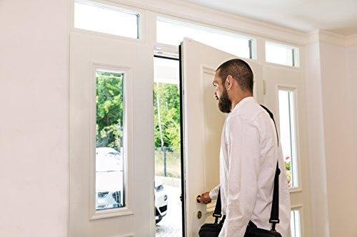 Eve Door & Window - Smart & wireless contact sensor for windows/doors, automatically trigger accessories and scenes, get notifications (open/closed status), no bridge necessary, BLE (Apple HomeKit)