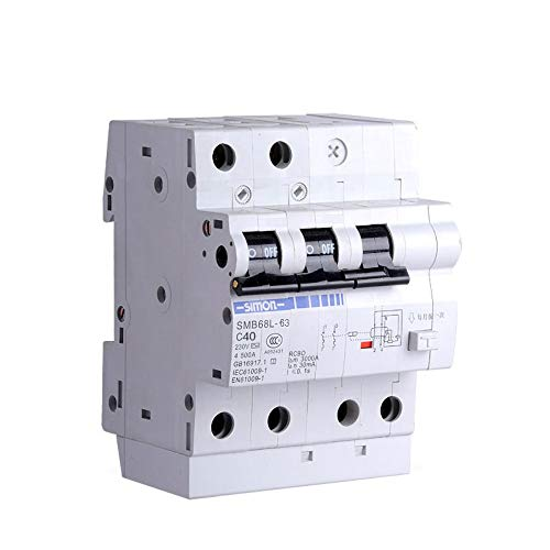 Low-voltage-switch (xiadsk Air Switch Leakage Protector Circuit Breaker Leakage Protection Combination Low Voltage Electrical 2P, 20A)