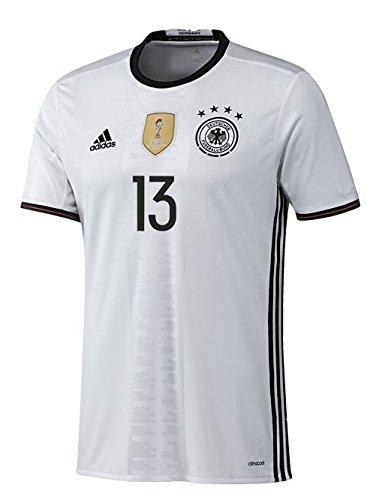 Adidas DFB Alemania Camiseta Home Hombre Euro 2016–Müller 13, Weiß, Small