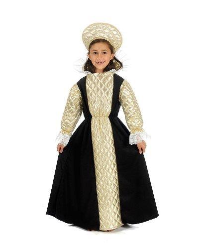 Anne Boleyn Tudor-Königin Kinder Kostüm, (Kostüm Boleyn Anne Kostüm)