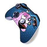 Xbox One S Manette sans Fil Pro Console Xbox Manette avec Prise en Main Douce et Skin Version personnalisée Exclusive (Xbox-‿Courage)
