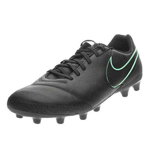 Nike Tiempo Genio Ii Leather Ag-Pro, Chaussures de Football Homme Noir