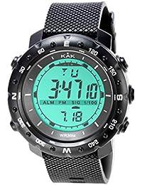 Modaworld Reloj Digital Hombre Deportivos Reloj electrónico Impermeable para Hombre de 30 m de Moda
