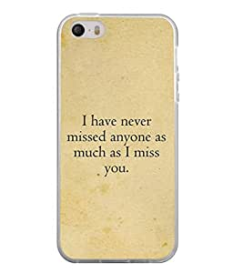 Fuson Designer Back Case Cover for Apple iPhone SE (helpless sometimes as long as you )