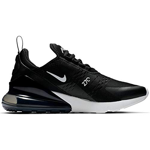 Nike W Air Max 270, Scarpe Running Donna, Nero (Black/Anthracite/White 001), 40 EU