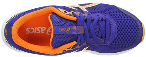 Asics Kinder-Unisex Gel-Zaraca 5 Gs Gymnastik Blu (Asics Blue/Autumn/White)