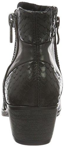 Caprice 25316, Bottes Classiques Femme Noir (Blk Rept.Comb 41)