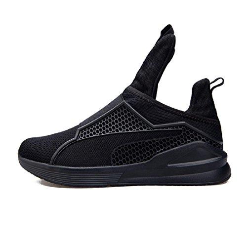 Hommes Chaussures décontractées Personnalité Respirant Mode Loisir Chaussures paresseuses Black