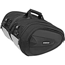 Dainese-D-SADDLE MOTORCYCLE BAG, Stealth-Negro, Talla N