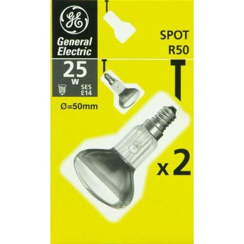2-x-ge-general-electric-25w-r50-ses-e14-reflector-spot-light-bulbs-small-edison-screw-cap-nr50-incan