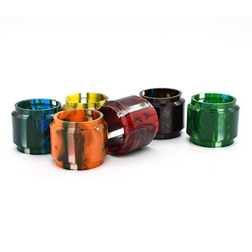 Tube en verre à ampoule acrylique à motifs + Ensemble de Drip Tip pour SMOK TFV12 Prince Tank, 100% authentique